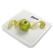 scale libra measurement tape diet fruit food apple